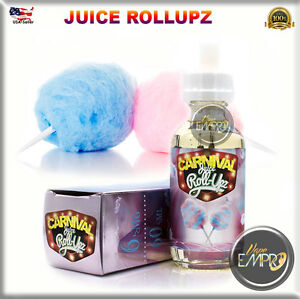 JUICE ROLL Upz melon Ice Carnival BerryLemonade Cotton Candy Raz berry 60 120ML