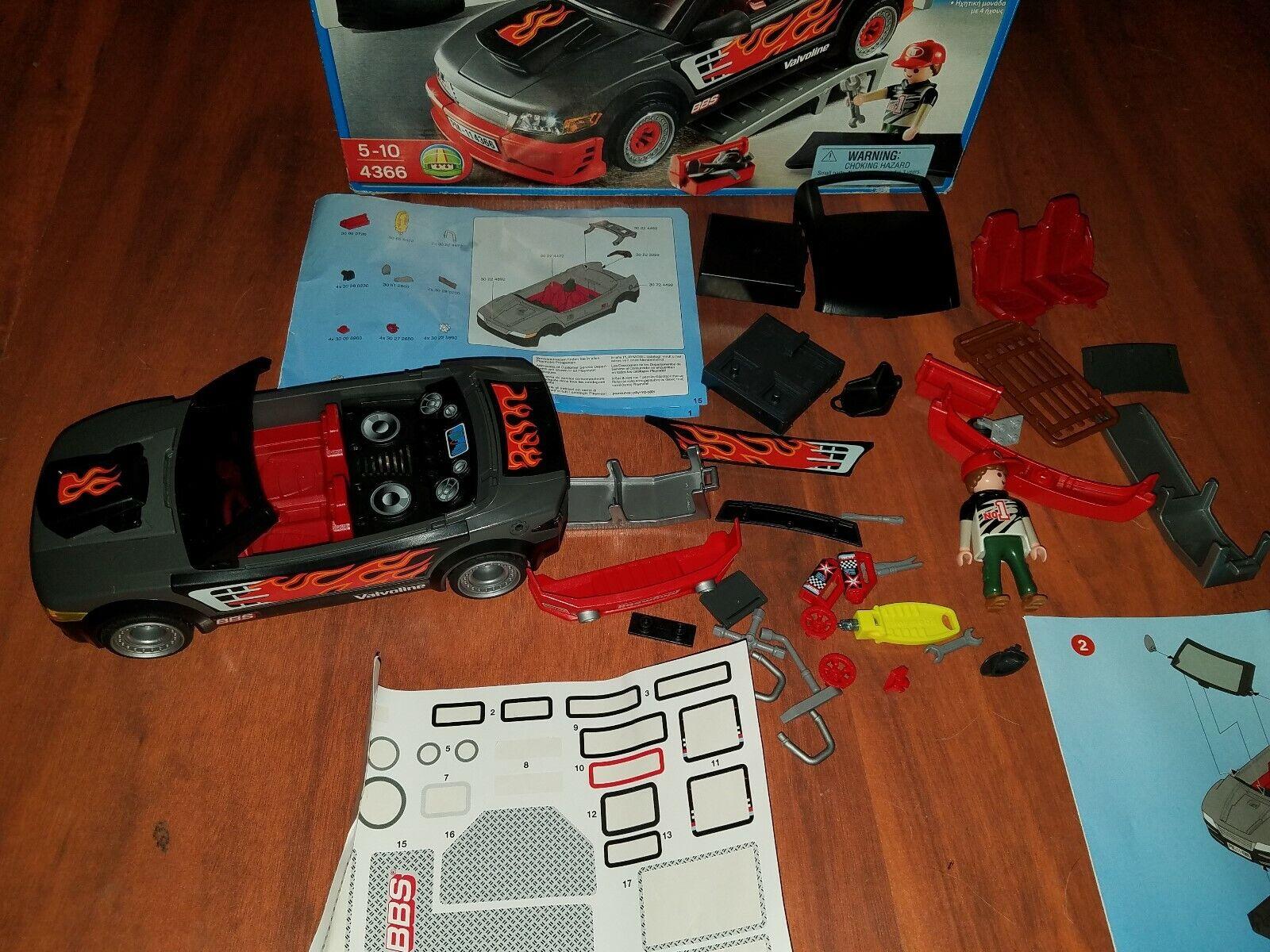 Playmobil Tuning lavoronegozio 4366 completare nice condition fast gratuito  shipping  prezzi bassi