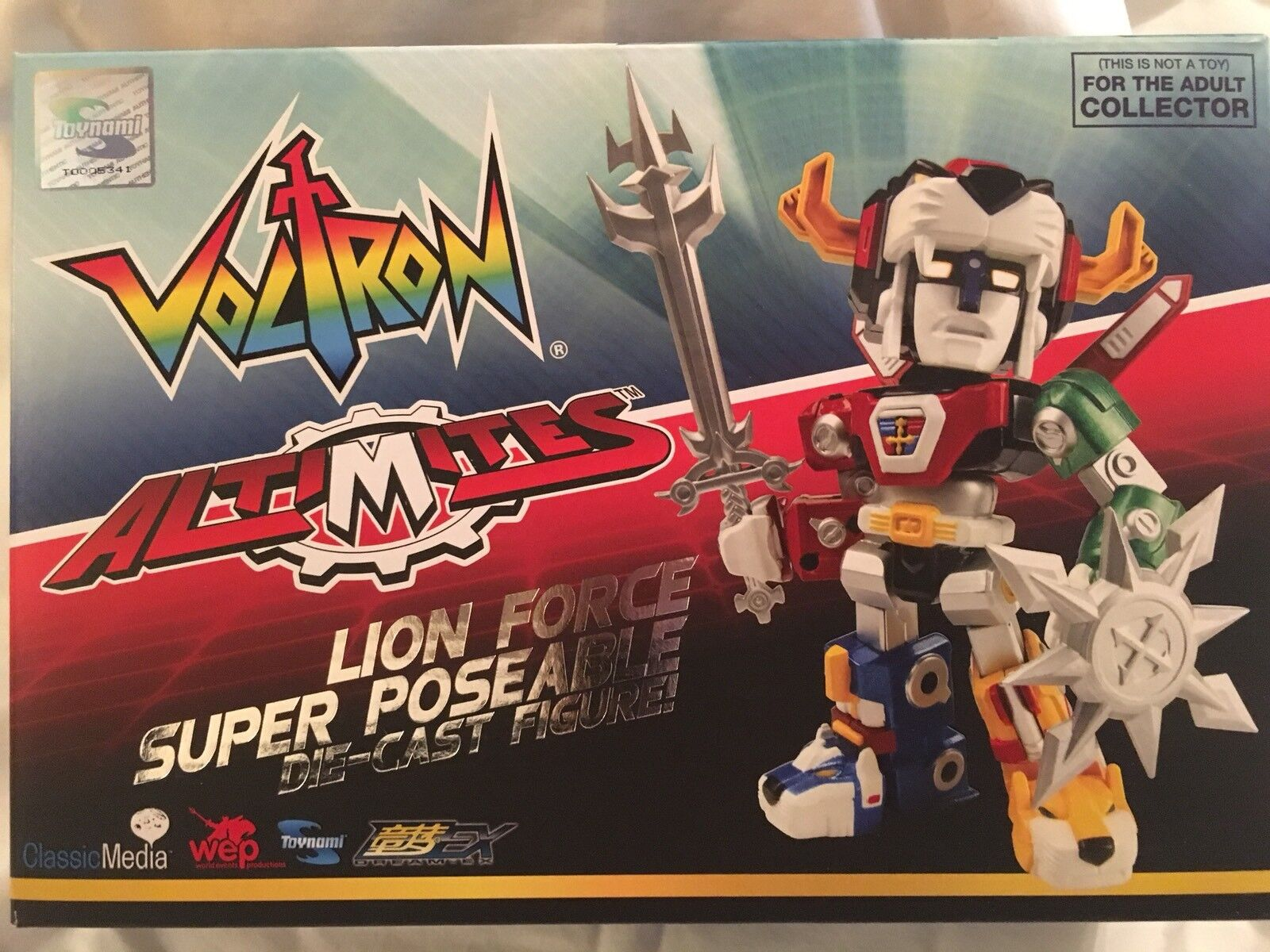 Voltron 30th Anniversary Altimites Lion Force Super Posable Die-Cast by Toynami