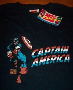 CLASSIC-CAPTAIN-AMERICA-Marvel-Comics-T-Shirt-MEDIUM-NEW-w-TAG