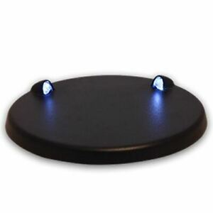LED Light Base with USB * Blue Light * Must-Have To Display Small Collectibles!