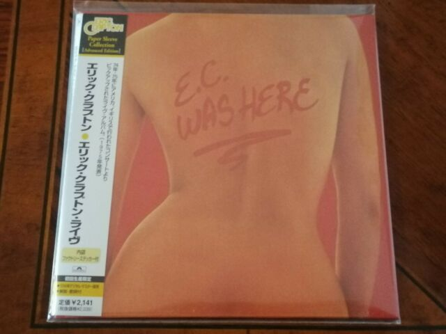 Eric Clapton, E.C. Was Here, 1cd Japan Mini Lp