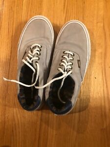 Image is loading NEW-VANS-AUTHENTIC-PIG-SUEDE-SNEAKERS-SHOES-Men- c54f0a467