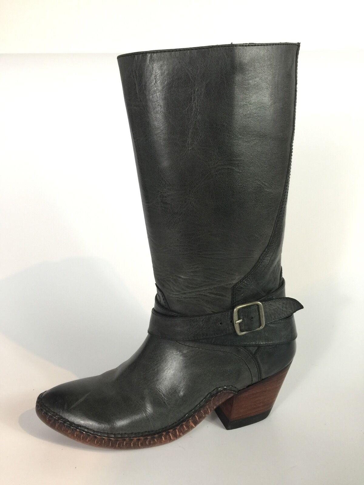 Ariat botas Mujer gris Cuero botas Ariat De Vaquero Tamaño 7 B 5fade5