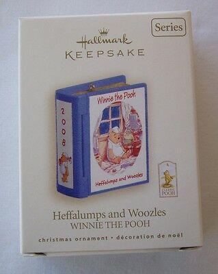 Hallmark 2008 Winnie the Pooh #11 Series Heffalumps Woozles Christmas Ornament