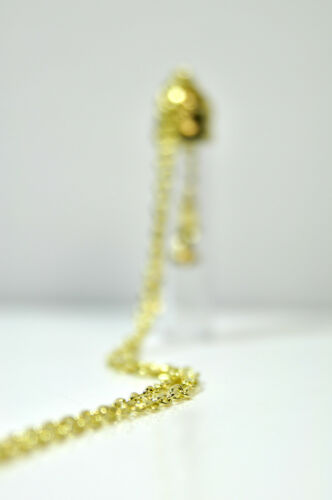 CL2 ELEGANT GOLDEN GLASS PLANT NECKLACE BRAND NEW UNIQUE RETRO