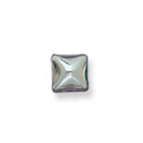 "1//4/"" Pyramid Spots 30 Pack Nickel 1331-32 by Tandy Leather"