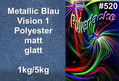 Vorsichtig Pulverlack Beschichtungspulver Pulverbeschichtung Metallic Blau Matt GroßE Auswahl;