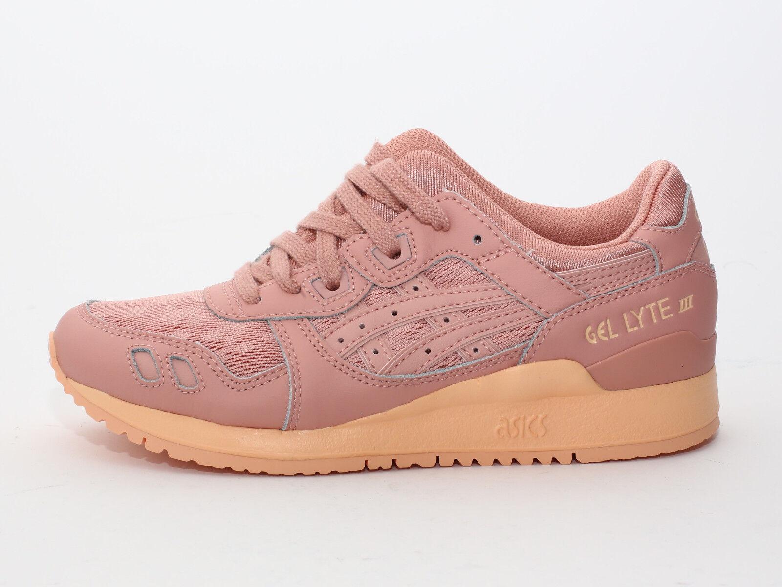 Zapatos promocionales para hombres y mujeres Asics Gel-Lyte III Peach Beige (H756L-7272) Damen Sneaker - Rosa/Orange - Neu ss