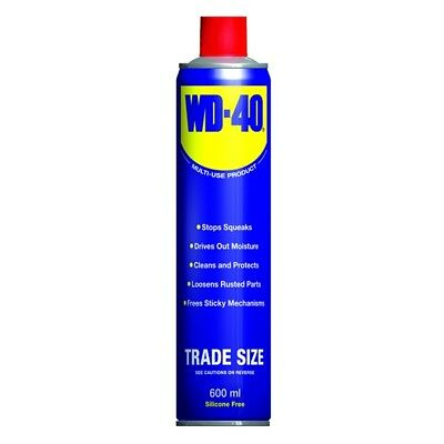 WD-40 44116 Multi Purpose Corrosion Protection 600ml Aerosol Lubricant