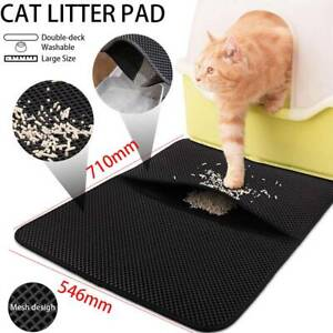 Lagrge-Double-Layer-Cat-Litter-Mat-Trapper-Waterproof-Foldable-Pad-Pet-Rug
