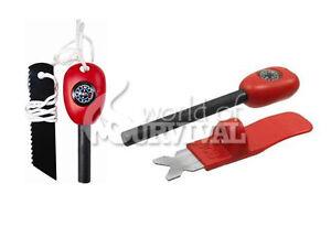 Bushcraft BCB Fireball Flint and Striker Red Grand