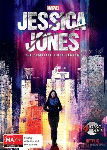 1 of 1 - Jessica Jones Season 1 (4 Disc DVD set) Sealed Region 4 Netflix Series