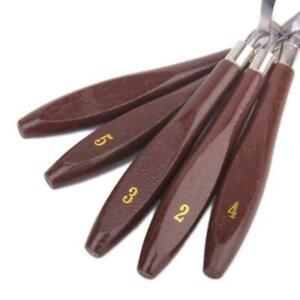 5x-Malspachtel-Farbspachtel-Kuenstlerspachtel-Spachtel-Malmesser-Palettenmes-G4T5