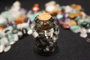 FANTASTIC-ZEBRA-JASPER-Stone-Chips-in-Jar-GREAT-GIFT