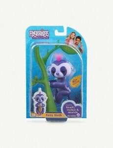 New-Kids-Fingerlings-Sloth-Interactive-Baby-Monkey-Genuine-Toy-For-Kids