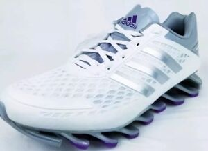 4c0e9bb951fe Image is loading Adidas-Springblade-Razor-Womens-M20199-White-Grey-Purple-