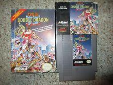 Double Dragon II 2: The Revenge (Nintendo NES, 1990) Complete in Box POOR