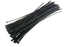 5000) Carrand 14 Inch 50 Lbs Tensile UV Black Nylon Cable Wire Zip ...