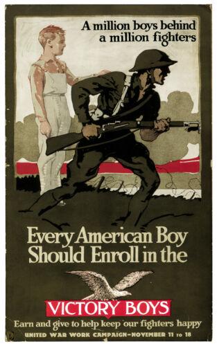 1764 Shop Wall Art fine Graphic Art Design Victory Boys Decor War Poster