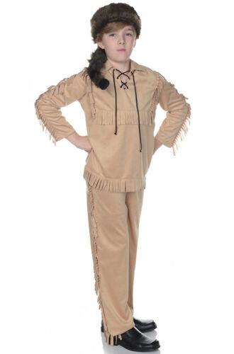 Brand New American Frontier Davy Crocket Child Costume