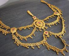 Womens Belt Brass Gold Egyptian Bellydance Costume Skirt Pants Fashion Jewelry