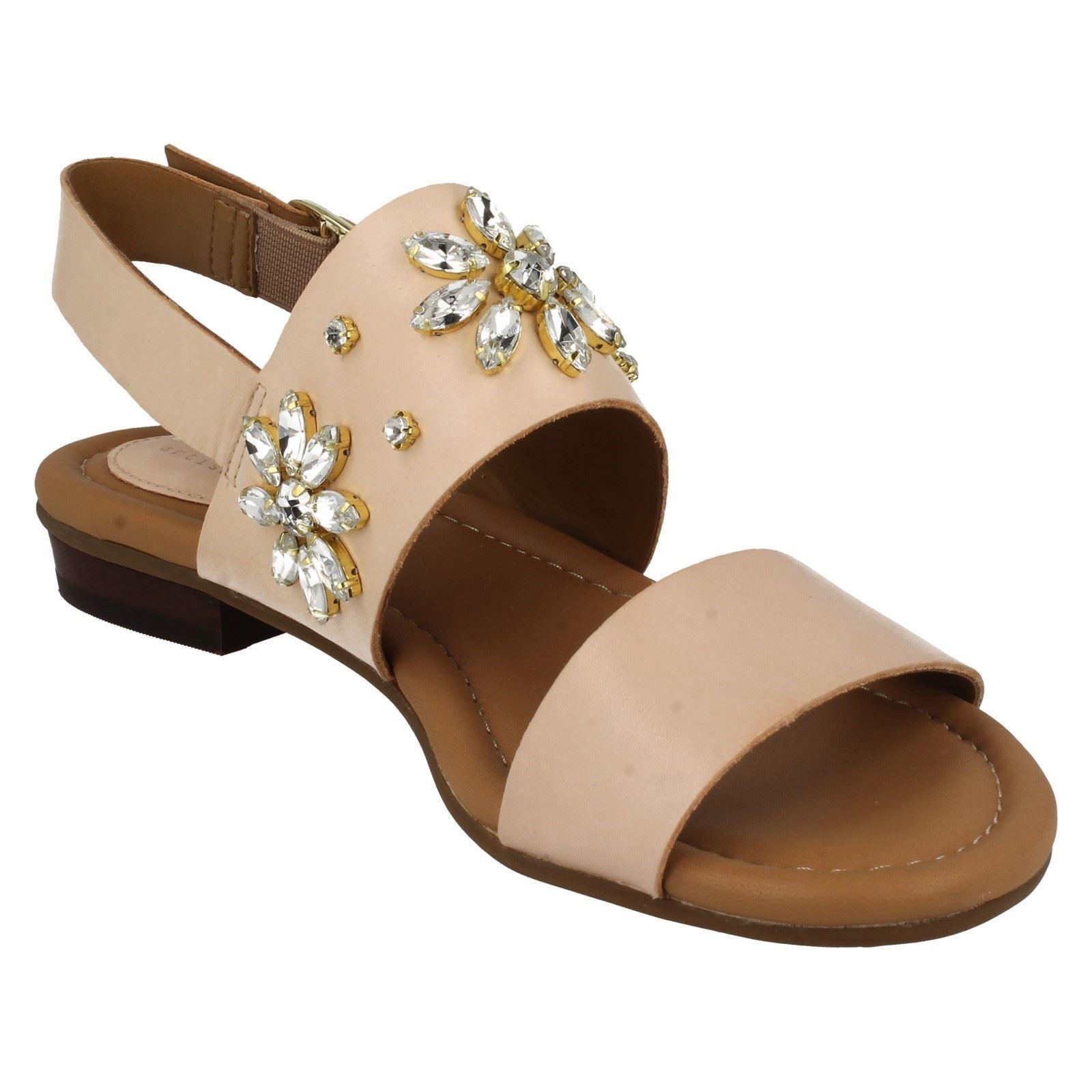Clarks Viveca sandalo MELROSE Nudo di donna sandalo Viveca con cinturino alla caviglia taglia 9a0f8a