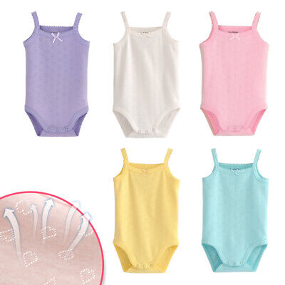 Bambini Baby Girls 6-Pack Tank Tops