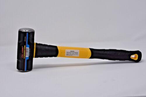 8LB Sledge Hammer Fiber Glass 30Inches Handle