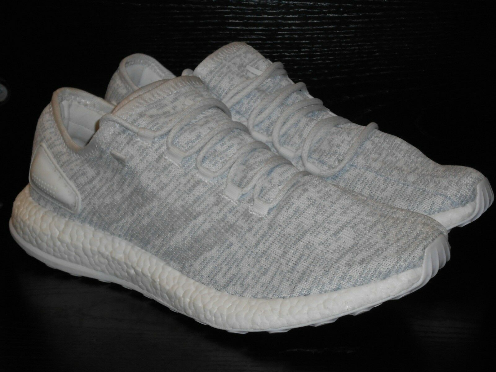 adidas PureBOOST Mens Trainer Shoe Size 11.5 Grey White RRP £95/-