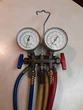 R12 R22 R502 Imperial Eastman Manifold Gauge Set For Hvac Brass Amp Hoses