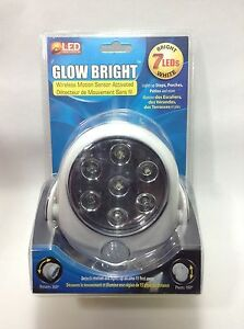 Glow Bright Wireless Motion Sensor Activated Security 7
