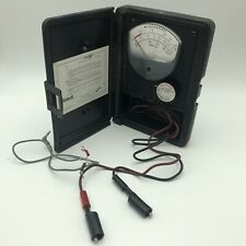 Vtg Jewell Electrical Instrument Tsa6a Microamperes Test Meter Gauge Tool G