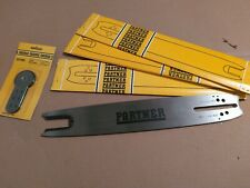 "058  gauge Partner  chainsaw 22/"" roller  nose  bar  NOS  3// 8  pitch"