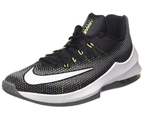 Nike Da EU Uomo Max Infuriate basso Air Basket Tg EU Da 41 LN37 39 2366a9