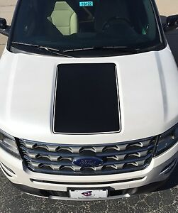 ford explorer vinyl hood decal sticker graphic stripe ebay