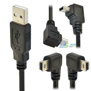 USB-2-0-A-Type-male-to-Mini-B-5-pin-right-Left-up-down-angled-male-cable-adapter