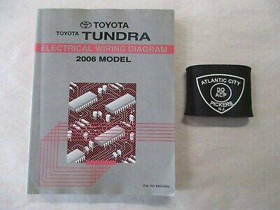 2006 tundra wiring diagram 2006 toyota tundra electrical wiring diagram service manual ebay  2006 toyota tundra electrical wiring