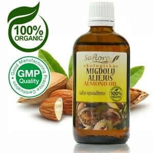 Sweet-Almond-Oil-100-ml-3-6-oz-100-Pure-Organic-Cold-Pressed