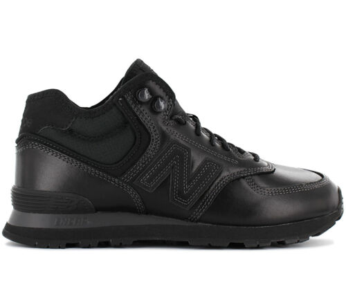 New balance MH574OAC MH574 Men/'s Sneaker Padded Leather Black Winter Shoes