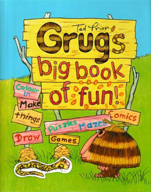 Grug's Big Book of Fun By Ted Prior (Paperback, 2011)