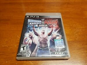 WWE-SmackDown-vs-Raw-2011-Sony-PlayStation-3-2010-PS3-CIB-Complete-TESTED