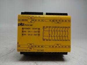 PILZ PNOZ X9P 24VDC 7n/o 2n/c 2so