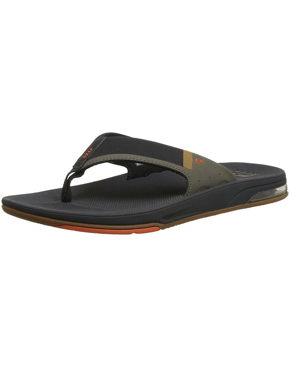 Reef Fanning Low Sandals in orange Grey