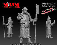 1/35 Scale Resin kit Post Apocalyptic Guard #3 resin SCi-Fi model kit