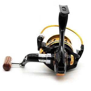 YUMOSHI 12BB Fishing Wheel Spinning Reel Saltwater Freshwater YB2000-7000 5.5:1