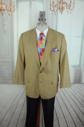 End Jhane On Barnes 44 Tan Heren Sportjas 44r R Weave Wool Blazer thCxQBrsd