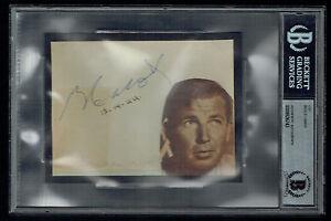 Bruce Cabot (d 1972) signed autograph 4x5 cut Actor King Kong (1933) BAS Slabbed