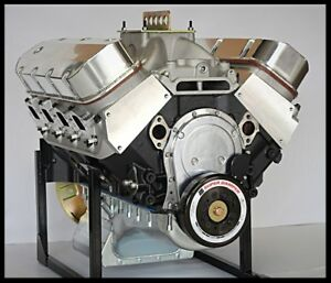 Bbc chevy 572 engine dart block crate motor 752 hp base for Gm 572 crate motor