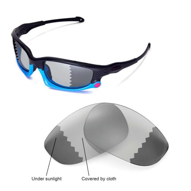 New Walleva Polarized Transition Photochromic Lenses For Oakley Split Jacket d1d951a7d6f8